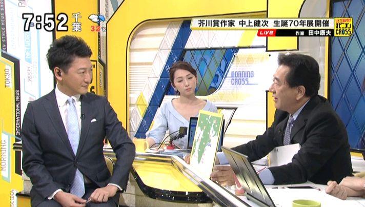 モーニングCROSS 20160808 田中康夫 堀潤 宮瀬茉祐子