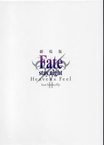 劇場版 Fate-stay night Heaven's Feel  Ⅱ.lost butterfly パンフレット ドラマCD付