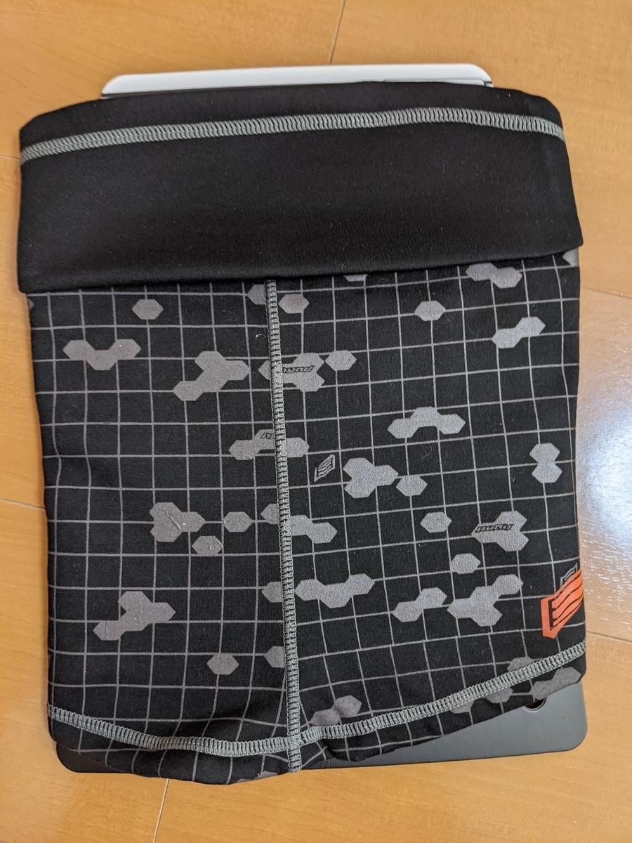 WIND BLOCK NECK WARMER (BLACK GRAPHIC)¥3,000