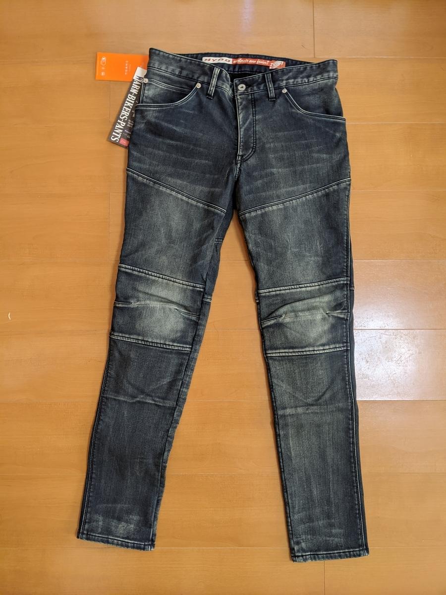 "D3O BIKERS PANTS ""WARM LAYERD""  INDIGO (aged-wash) ¥19,900"