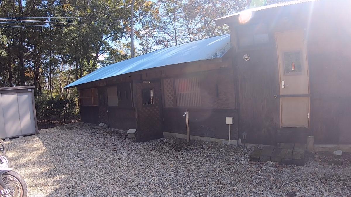 BBQ小屋(外観)