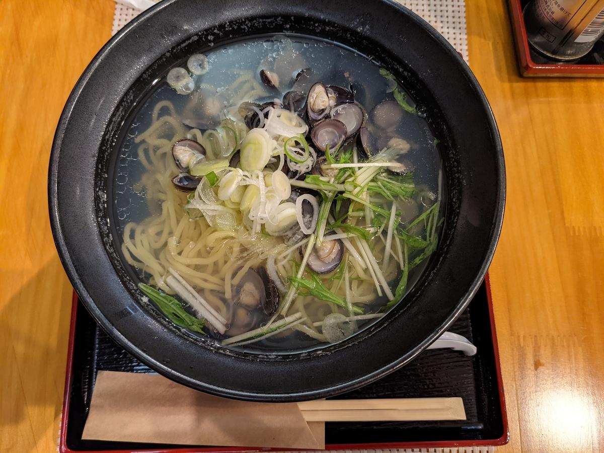 しじみラーメン (780円)