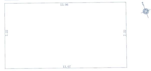 西宮市上田東町土地F号地 4番 地形図