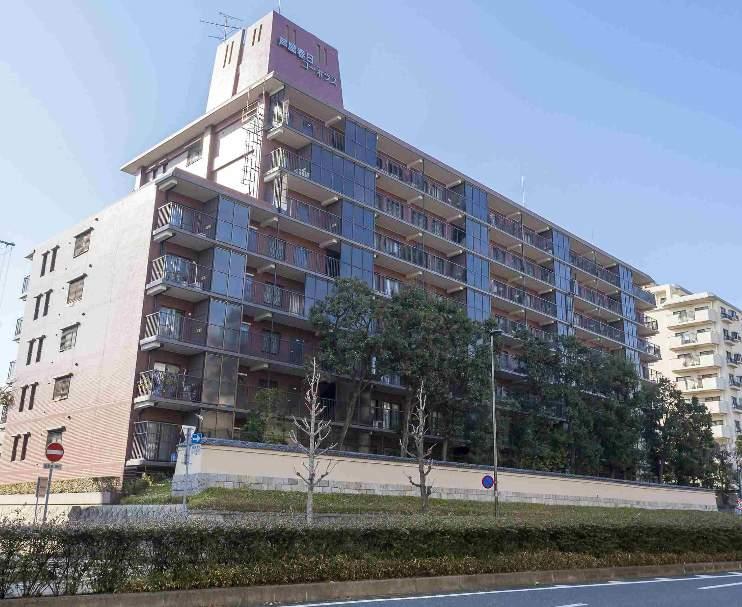 芦屋春日コーポラスA棟(3階部分・92.80㎡) 外観