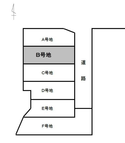 芦屋市宮川町中古テラスハウス 2番 配置図