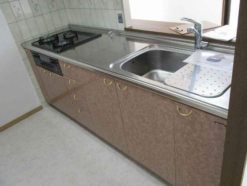香櫨園フラットA棟(5階部分・72.42㎡) キッチン