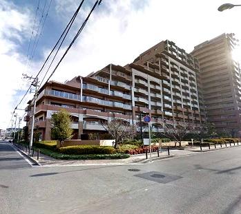 ルネヒューマンズガーデンパラディオA棟(2階部分・96.88㎡) 外観