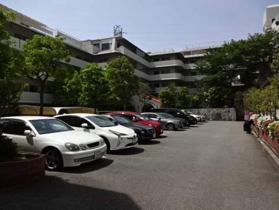 朝日ケ丘アーバンライフ(4階部分・73.62㎡) 駐車場