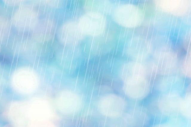 雨を連想する画像