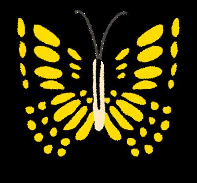 アゲハチョウの絵