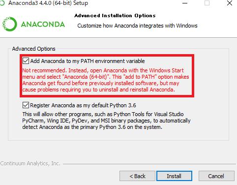 Anaconda3を使用してPython3 6でOpenCV3を使える環境を整える