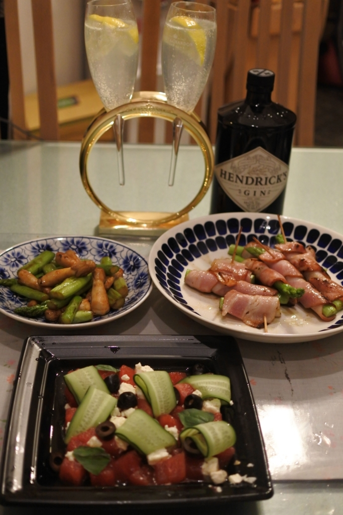 パークハイアット東京デリカテッセンのお惣菜をつまみに家呑み
