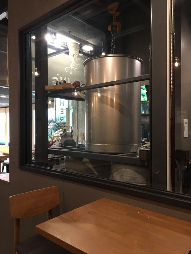 ビール工房 新宿の店内