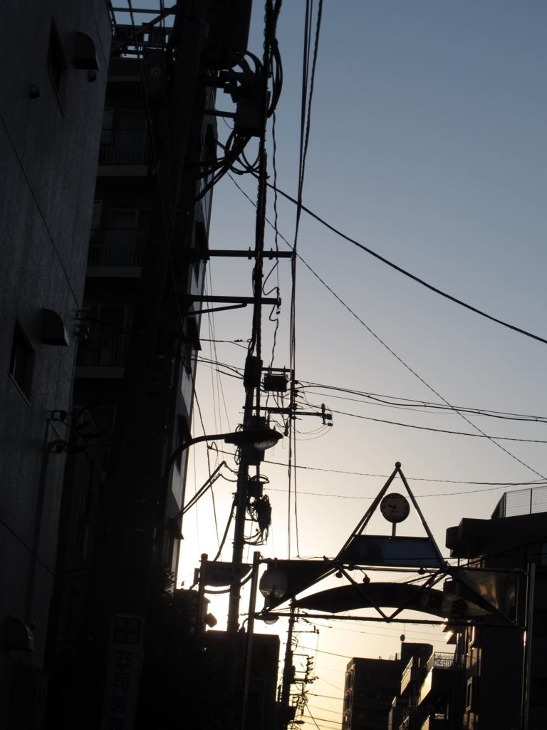 けやき橋商店街入り口・西新宿五丁目中央北地区再開発