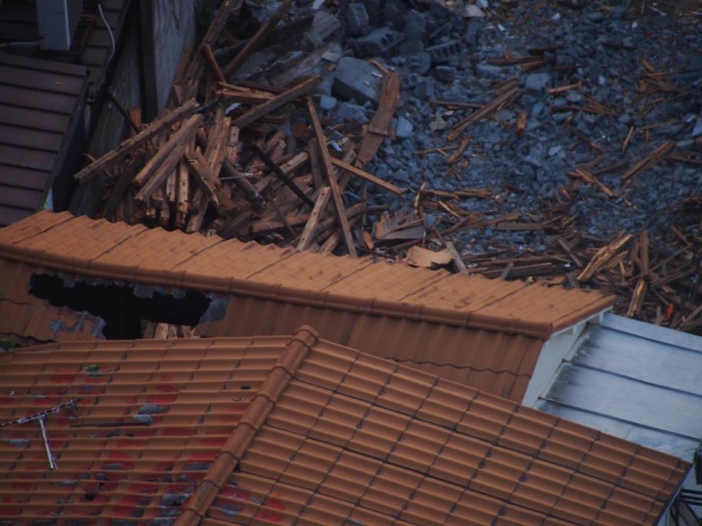 西新宿五丁目中央北地区・再開発で解体される木造住宅