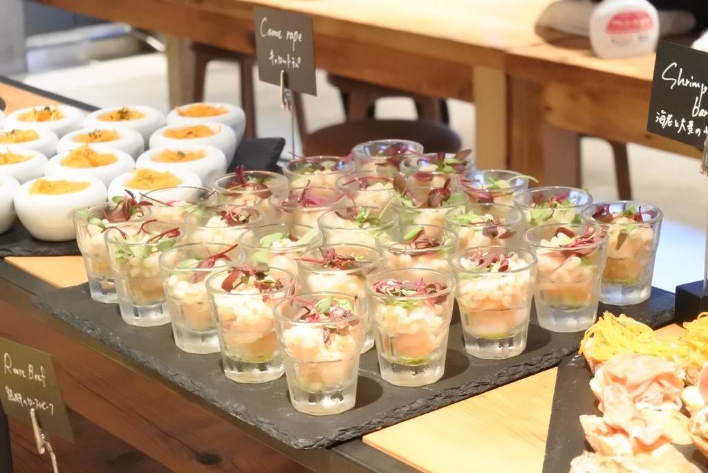 MORETHAN DINING(モアザンダイニング)のランチブッフェのフード