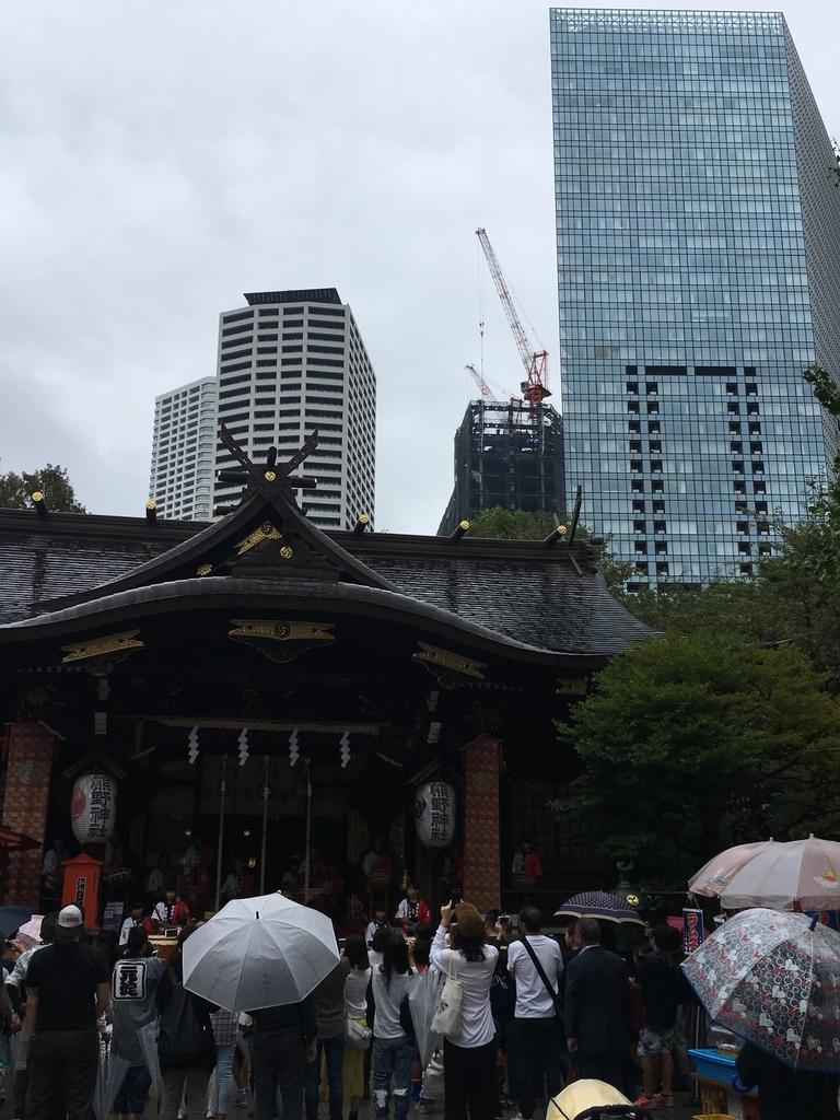 十二社熊野神社例大祭2018