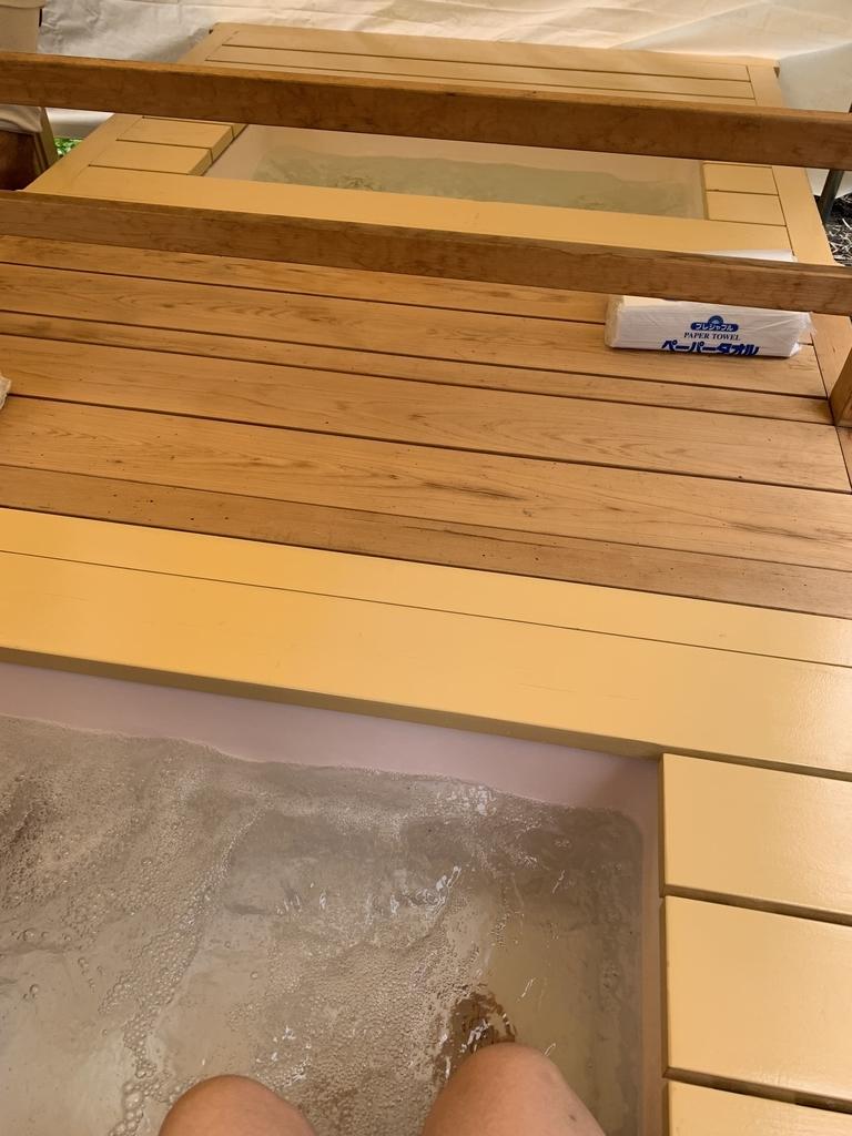 芸協らくごまつり2018@芸能花伝舎(西新宿)の足湯