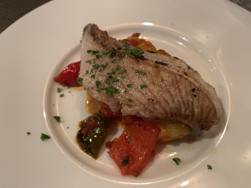 西新宿フレンチ「プロヴァンサル」の食べログ限定コース、魚料理
