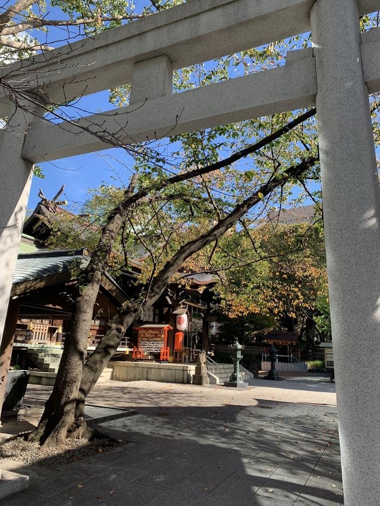 十二社熊野神社(西新宿・都庁前)の鳥居