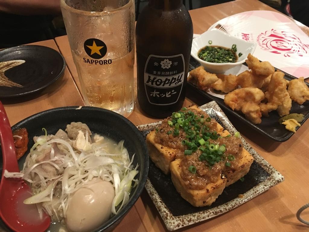二代目倉蔵商店のつまみ&ホッピーセット(新宿西口・居酒屋)