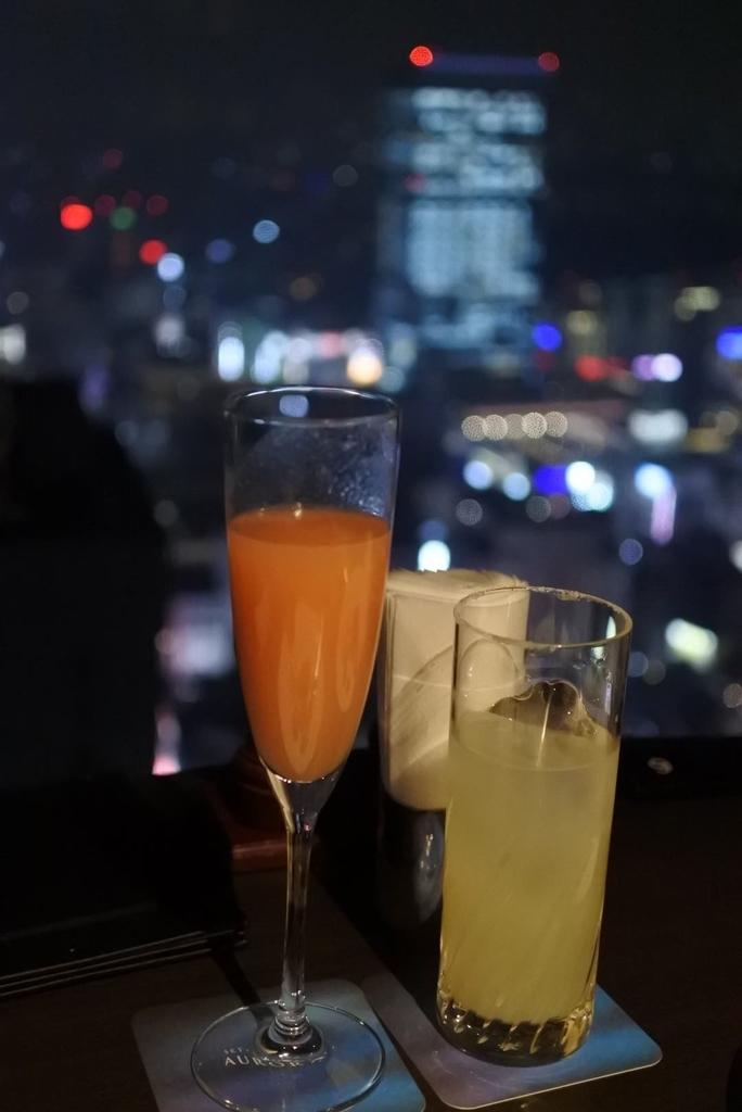スカイラウンジオーロラ(西新宿・京王プラザホテル)のカクテル
