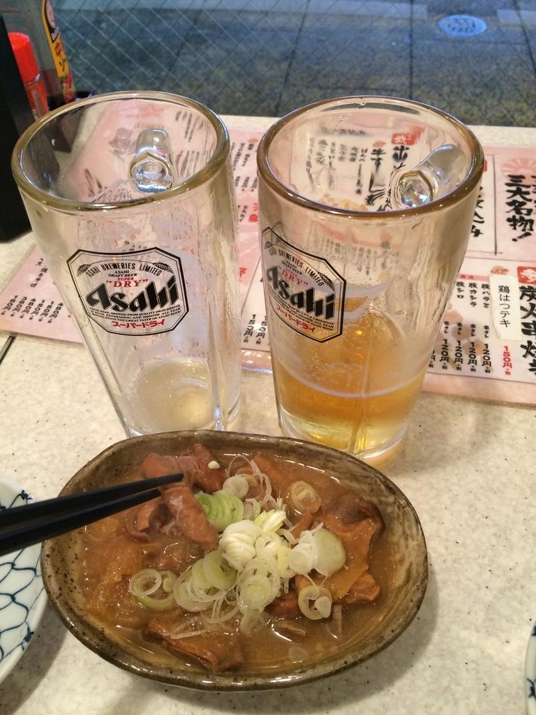 アカマル屋 新宿西口店、もつ煮込み