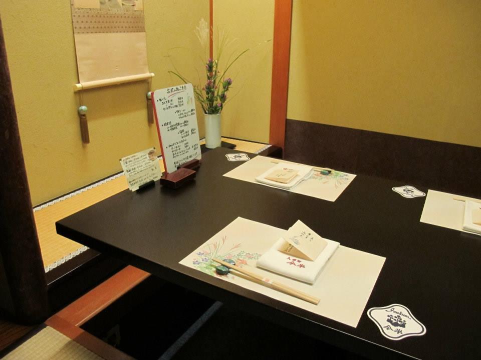 人形町今半 新宿第一生命ビル店の個室