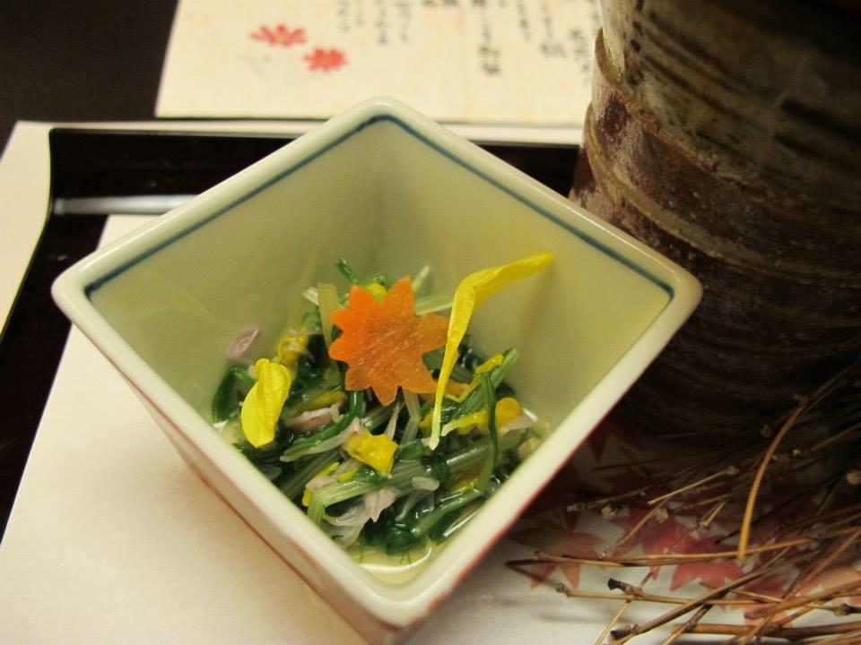 人形町今半 新宿第一生命ビル店(西新宿)のランチ会席「華会席みやび」の前菜