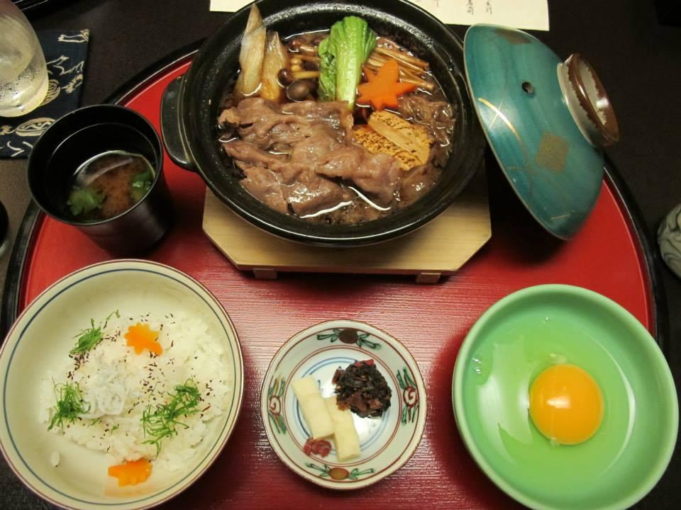 人形町今半 新宿第一生命ビル店(西新宿)のランチ会席「華会席みやび」のミニ牛すき鍋