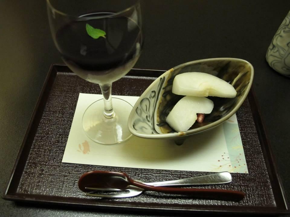 人形町今半 新宿第一生命ビル店(西新宿)のランチ会席「華会席みやび」のデザート