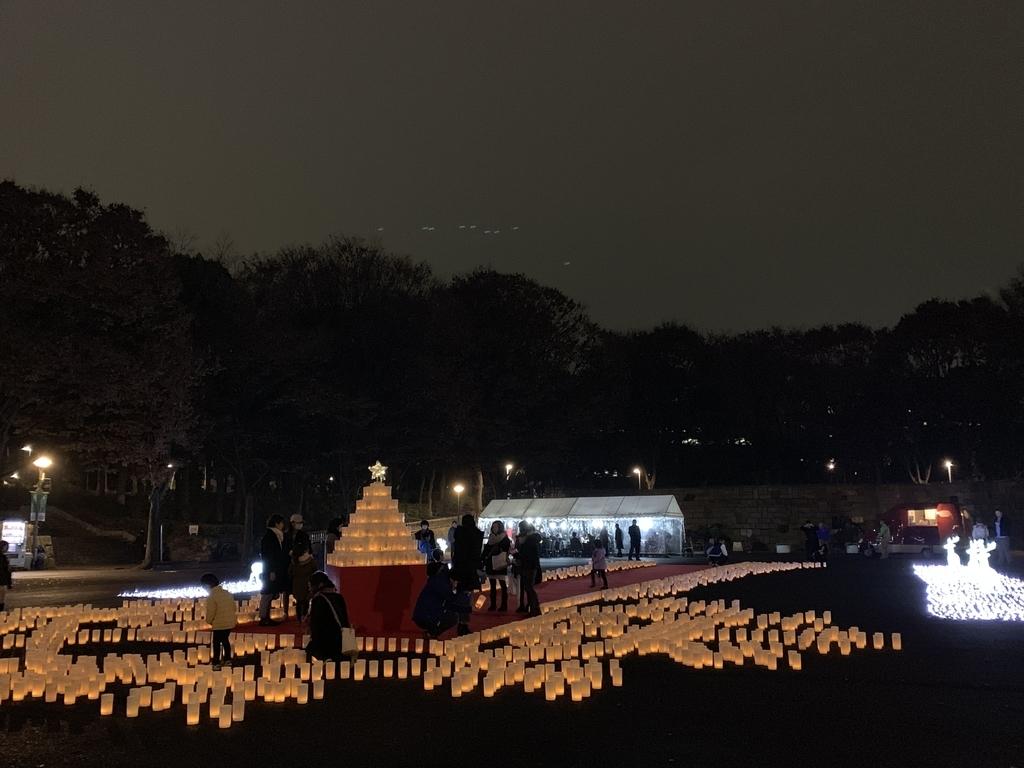 新宿中央公園「キャンドルナイト」(CandleNight@Shinjuku CentralPark)全景
