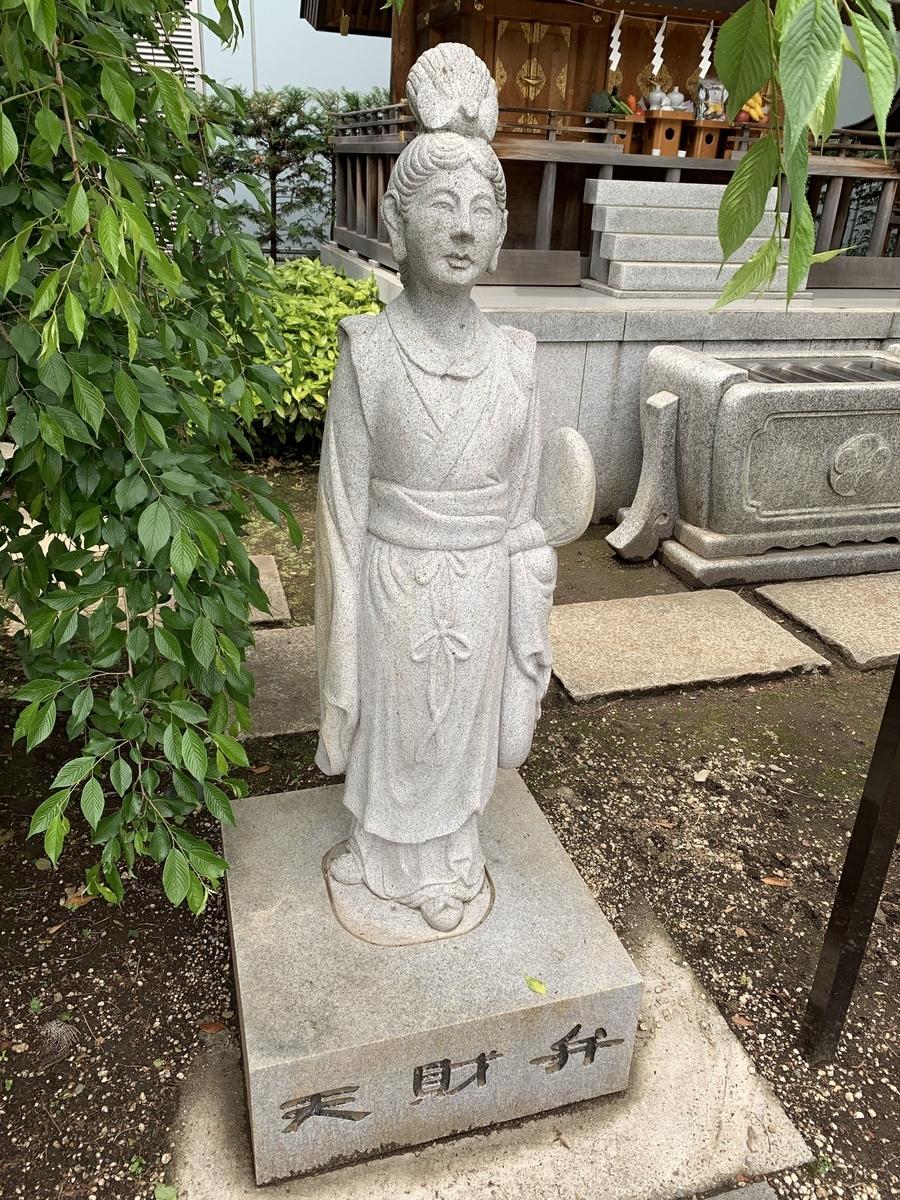 西新宿・成子天神社(七福神・弁財天)