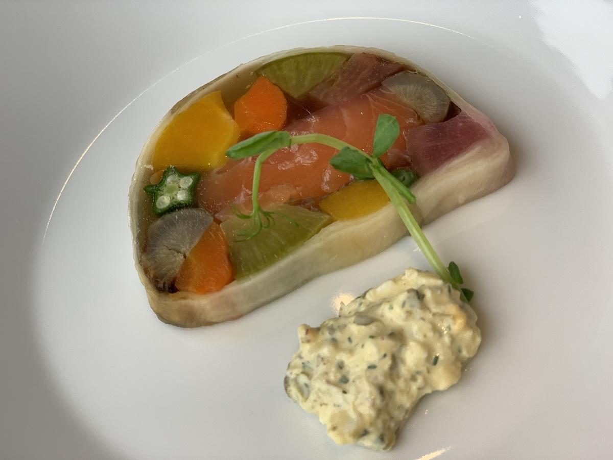 西新宿・パークハイアット「ジランドール」前菜