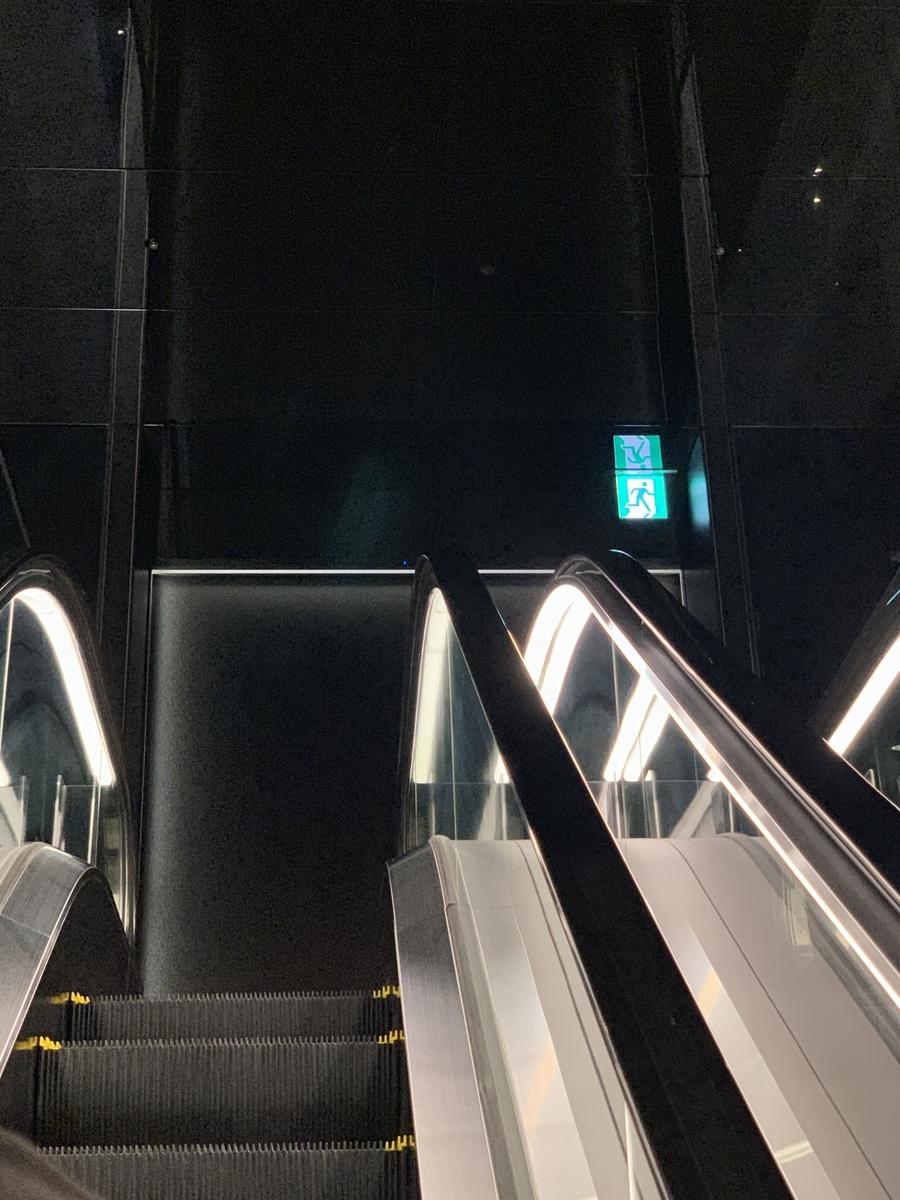 西新宿・住友ビル「個室会席 北大路 新宿茶寮」店までのエレベーター