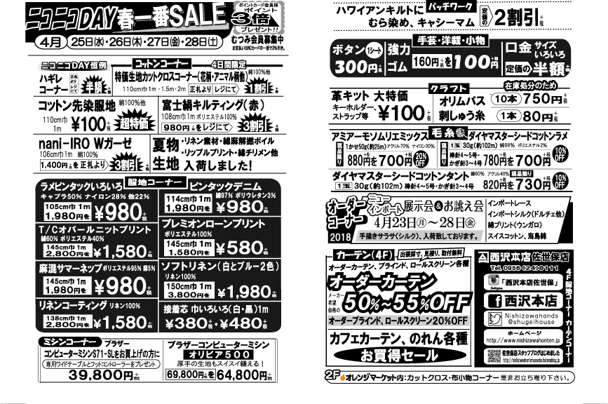 f:id:nishizawahontensasebo:20180424183455j:plain