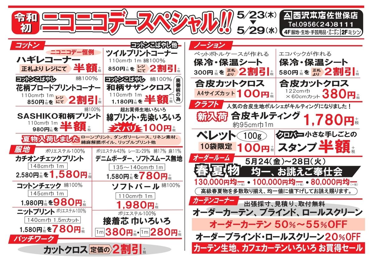 f:id:nishizawahontensasebo:20190521112752j:plain