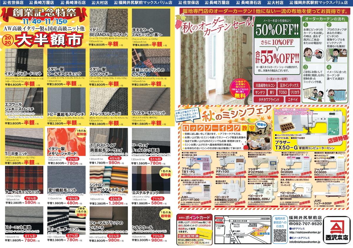 f:id:nishizawahontensasebo:20201102155232j:plain