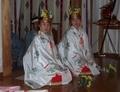 西野神社 助勤巫女(稚児)