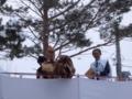 豆撒き(大黒様と年男)
