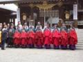 北海道神宮例祭(神門前)