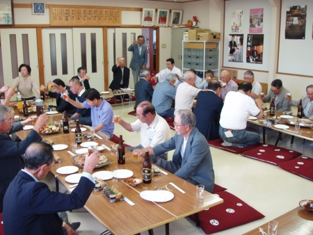 地域代表者と総代の合同会議