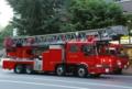 札幌市消防局のはしご車