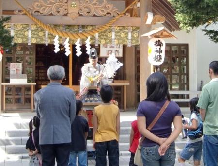 西野第三の子供神輿
