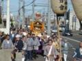 担ぎ神輿(昭和会館前)