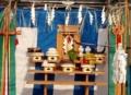 平福トンネル開通式の神饌