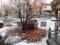 今シーズン初積雪