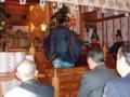 新嘗祭(朝日舞奉納)