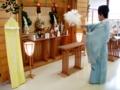 人形供養の御祈祷