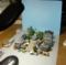 ジオラマ撮影風景